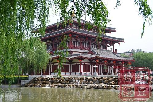 大唐芙蓉园芳林苑酒店是目前西安最高级的唐文化主题酒店,周边有曲江图片